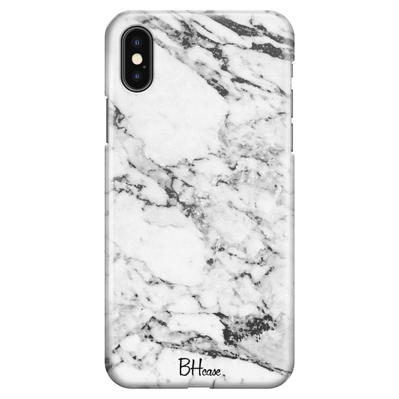 Marble White Coque iPhone XS Max