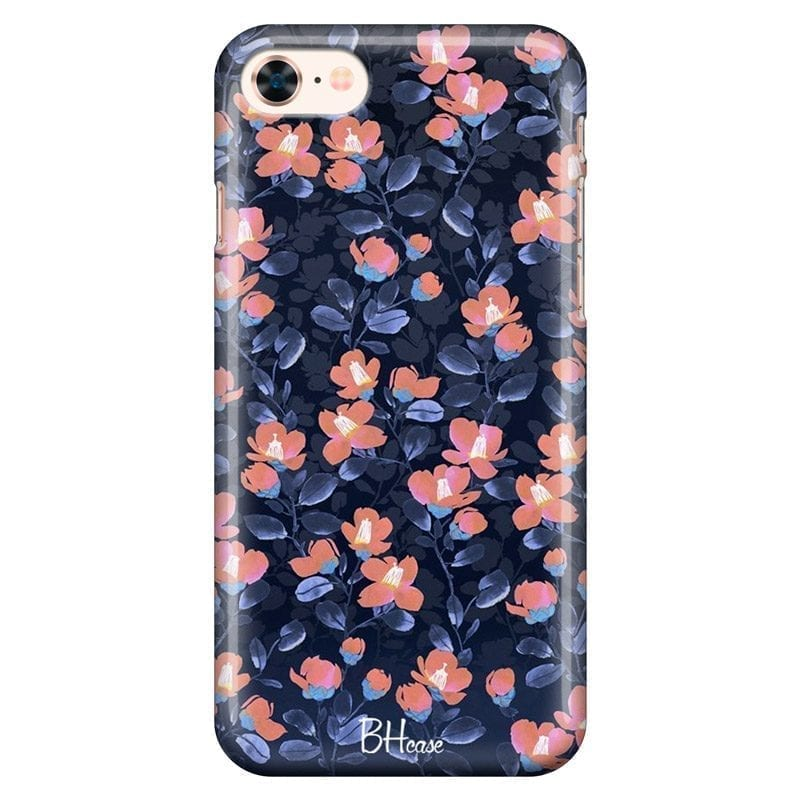 Midnight Floral Coque iPhone 8/7/SE 2 2020