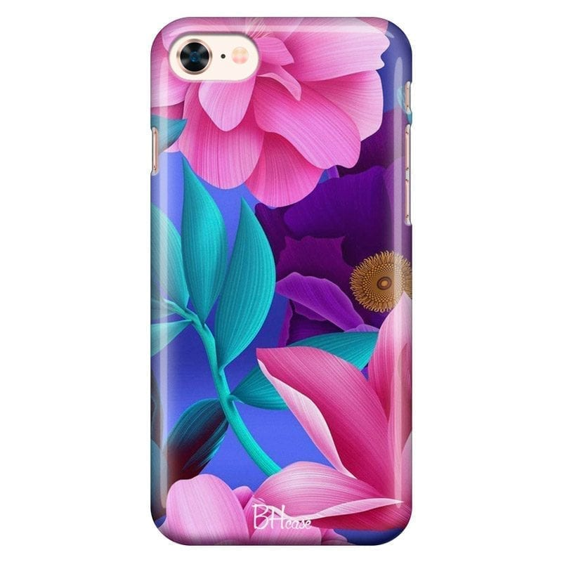 Pinky Floral Coque iPhone 8/7/SE 2 2020