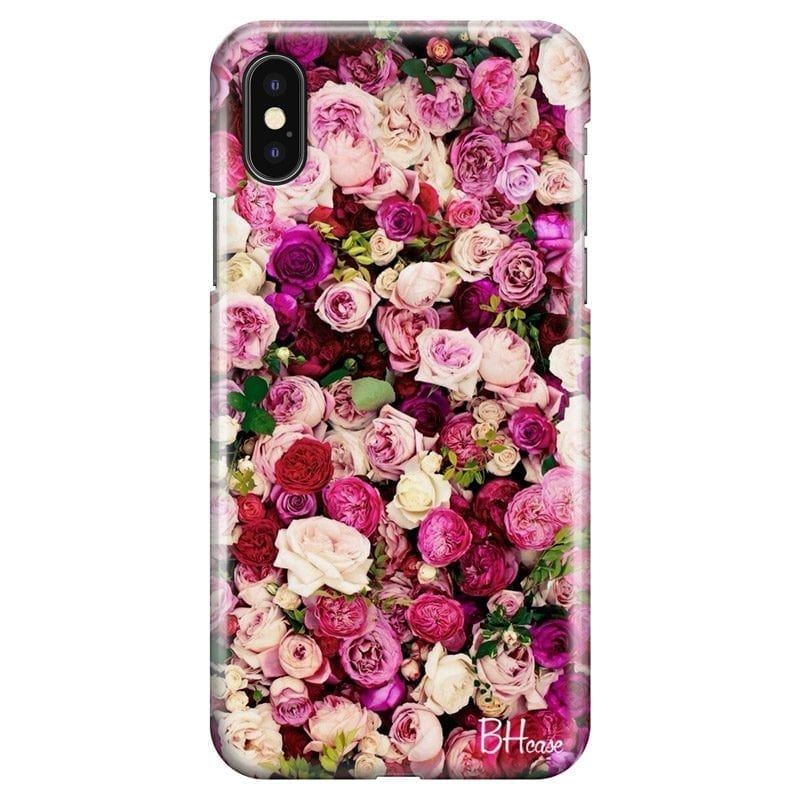 Roses Pink Coque iPhone X/XS