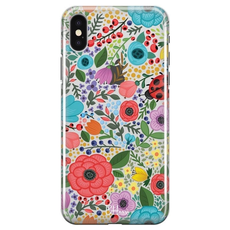 Spring Flowers Coque iPhone X/XS