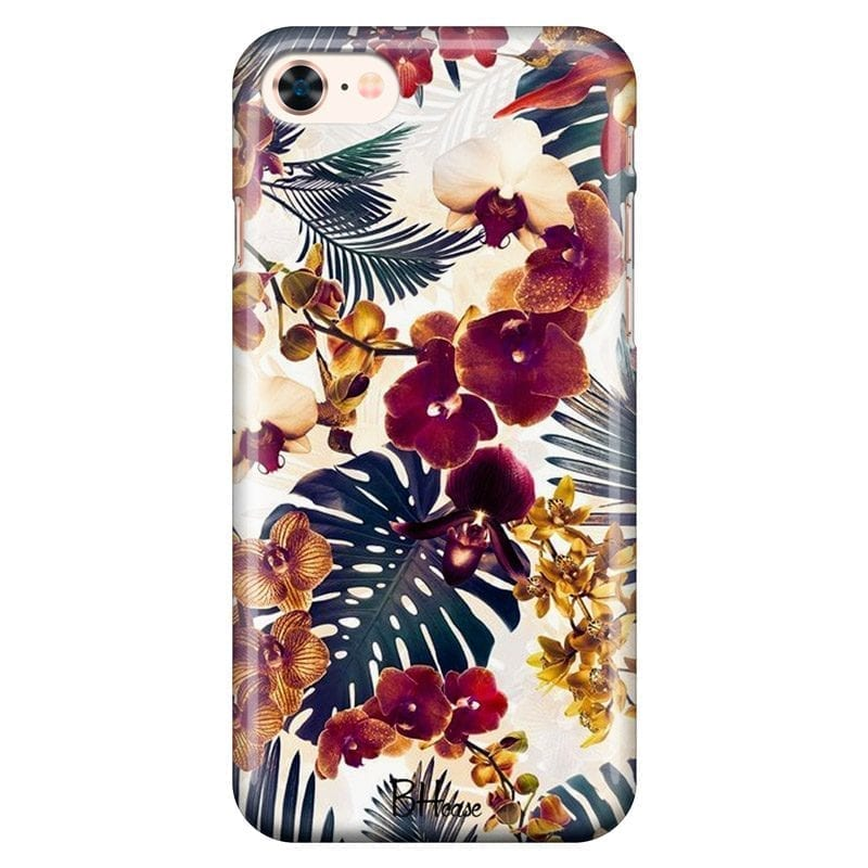 Tropical Floral Coque iPhone 8/7/SE 2 2020