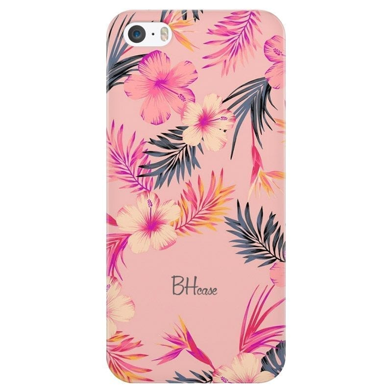 Tropical Pink Coque iPhone SE/5S