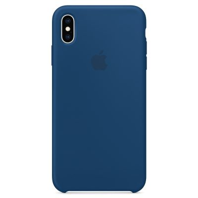 Apple Blue Horizon Silicone Coque iPhone XS Max