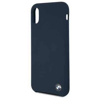 BMW Silicone Hard Navy Coque iPhone X/XS
