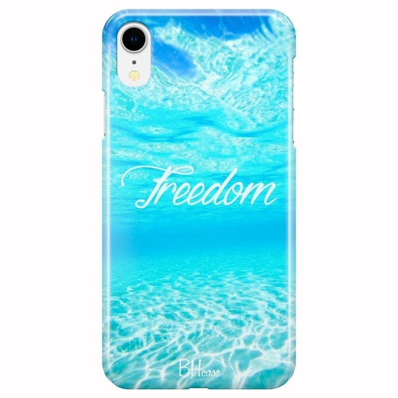 Freedom Coque iPhone XR