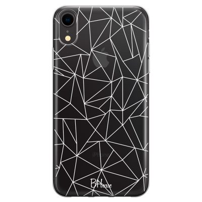 Lines White Net Coque iPhone XR