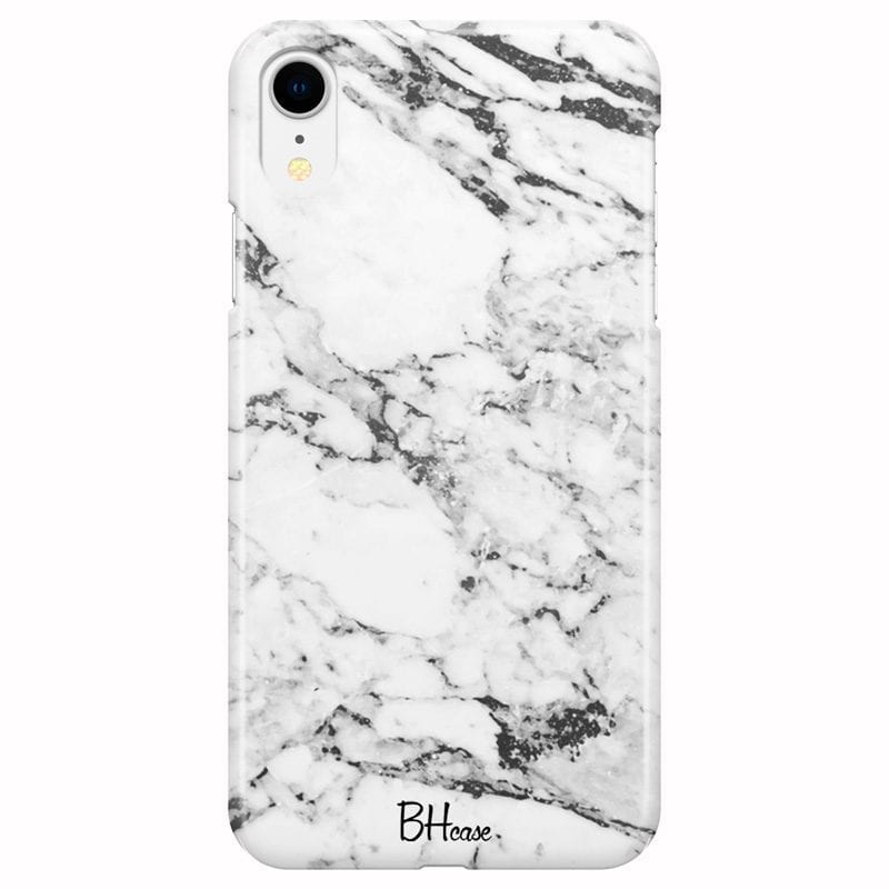 Marble White Coque iPhone XR