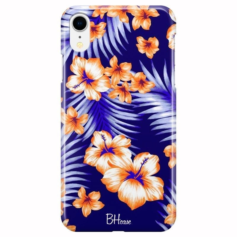 Night Floral Coque iPhone XR