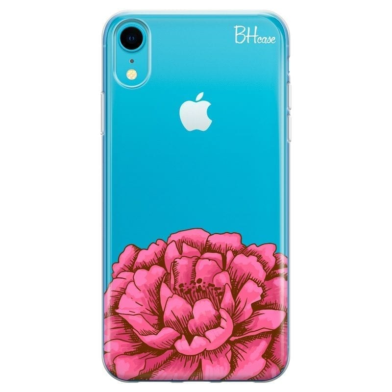 Peony Pink Coque iPhone XR