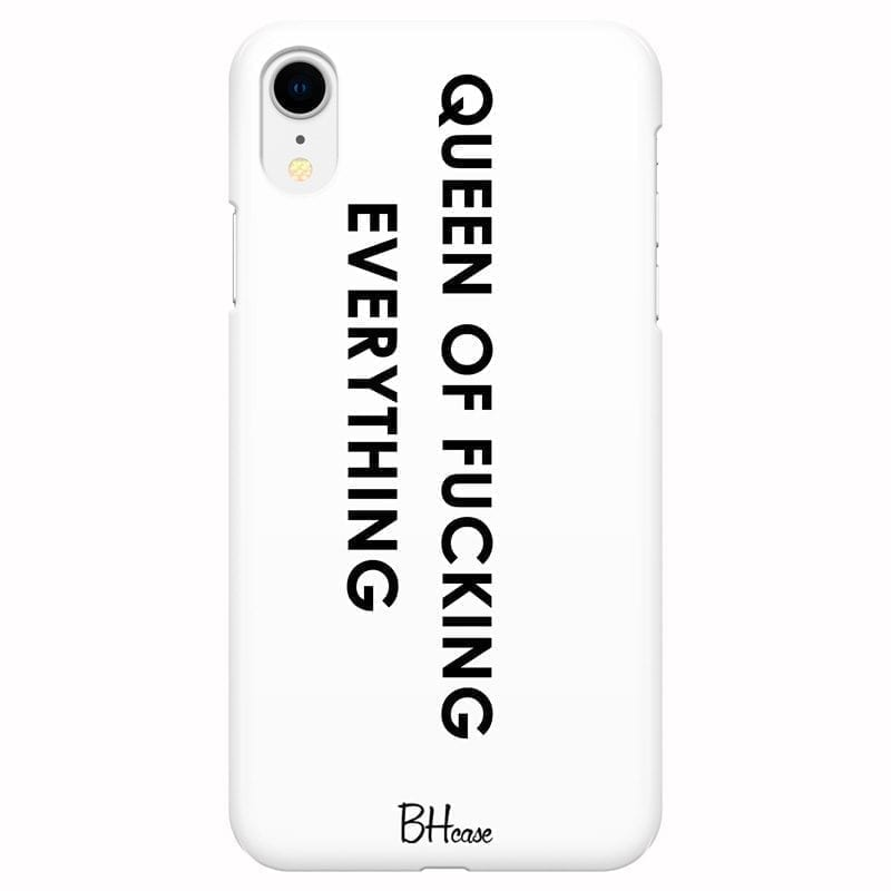 Queen Of Everything Coque iPhone XR