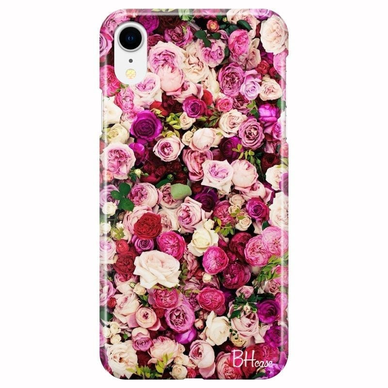 Roses Pink Coque iPhone XR