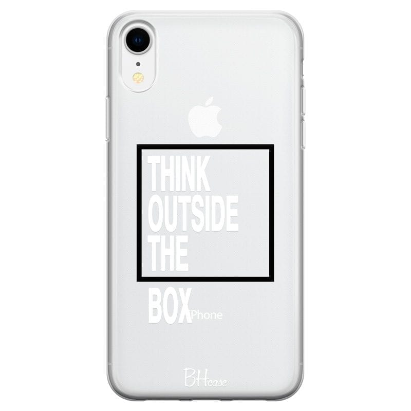 Think Outside The Box Coque iPhone XR