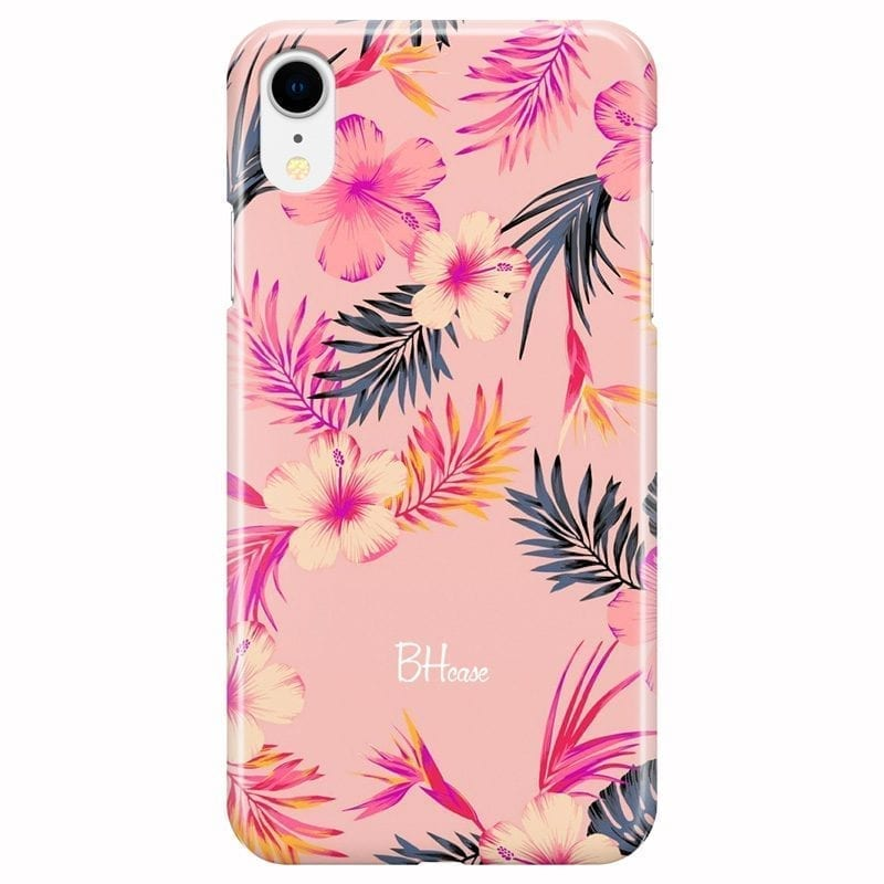 Tropical Pink Coque iPhone XR
