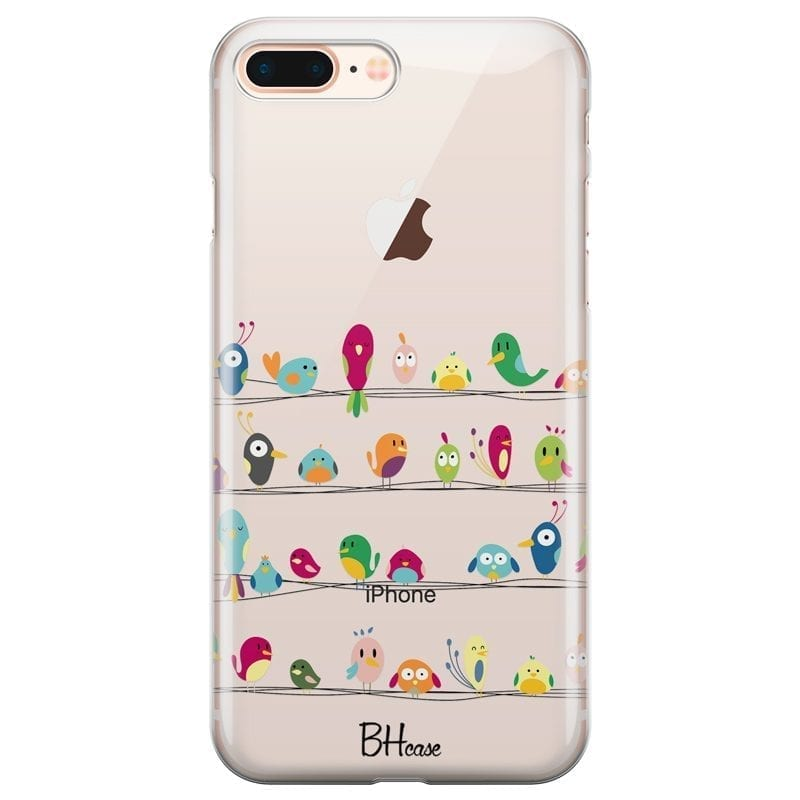 Birds Coque iPhone 7 Plus/8 Plus