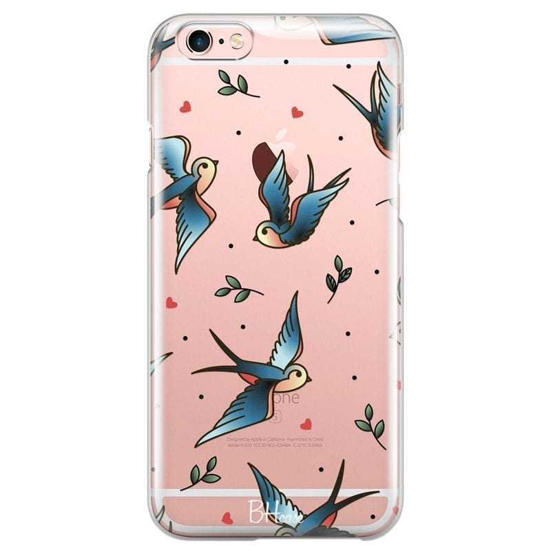 Birds Tattoo Coque iPhone 6 Plus/6S Plus