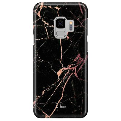 Black Rose Marble Coque Samsung S9