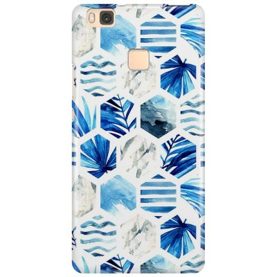Blue Design Coque Huawei P9 Lite