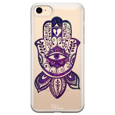 Bohemian Purple Hand Coque iPhone 8/7/SE 2 2020