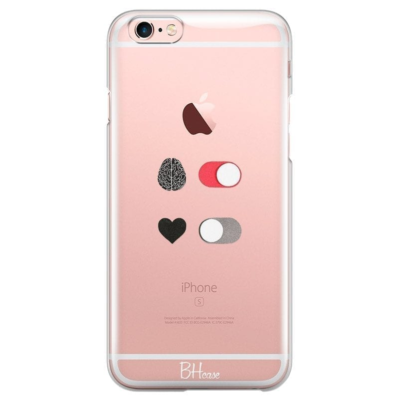 Brain On Heart Off Coque iPhone 6/6S