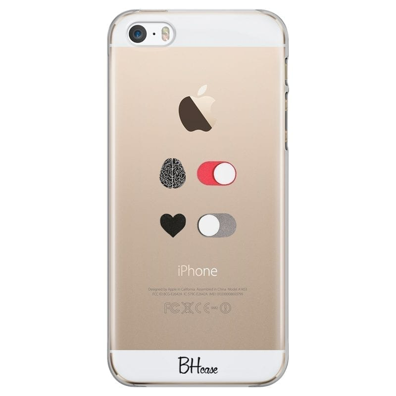 Brain On Heart Off Coque iPhone SE/5S