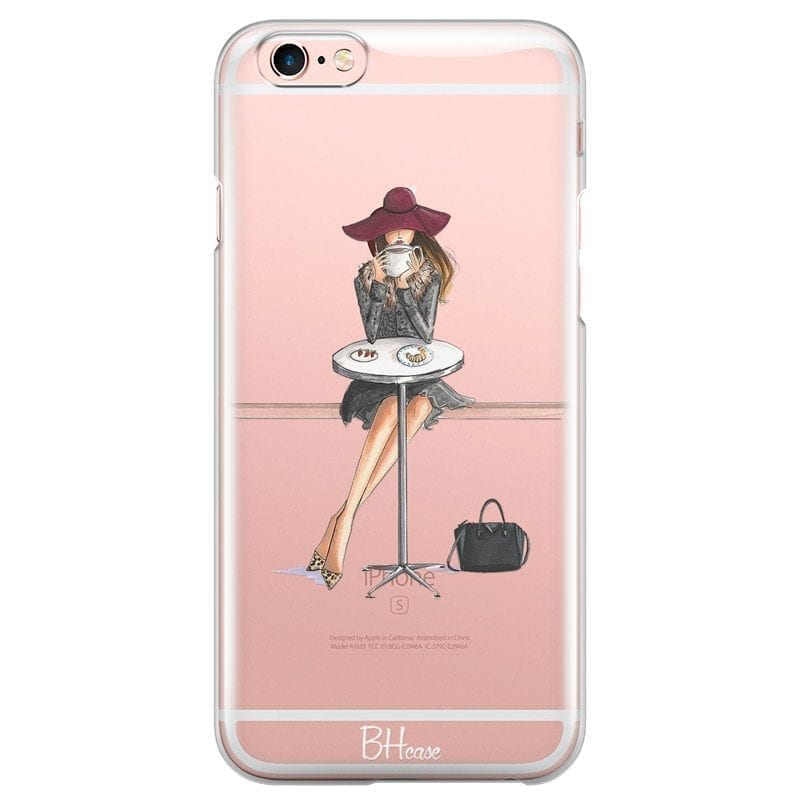 Coffee Girl Coque iPhone 6/6S