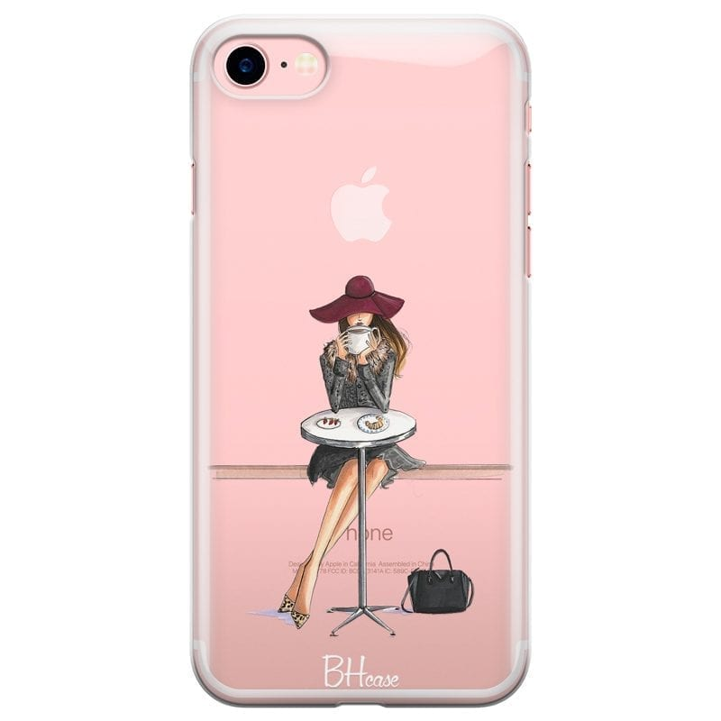Coffee Girl Coque iPhone 8/7/SE 2 2020