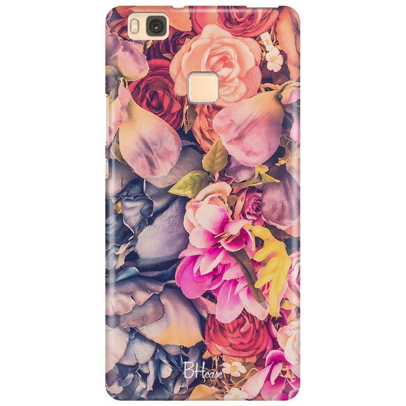 Colorful Flowers Coque Huawei P9 Lite