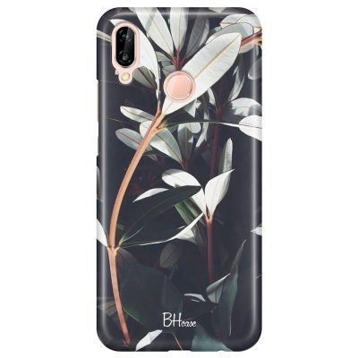 Dark Leaves Coque Huawei P20 Lite
