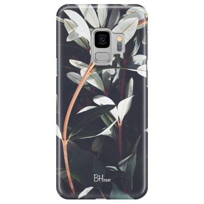 Dark Leaves Coque Samsung S9