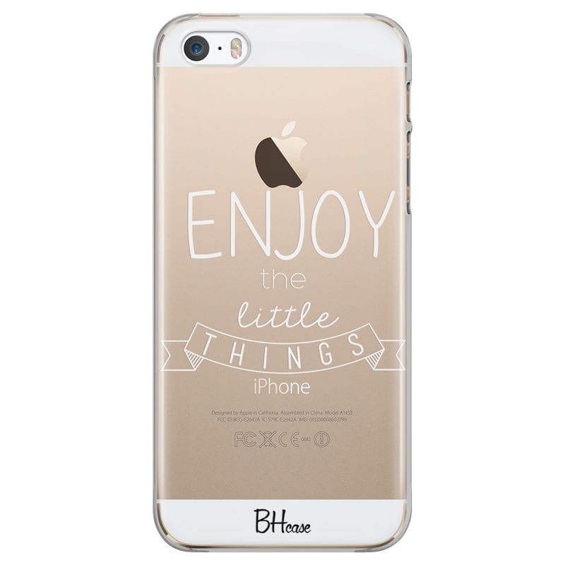 Enjoy Little Things Coque iPhone SE/5S