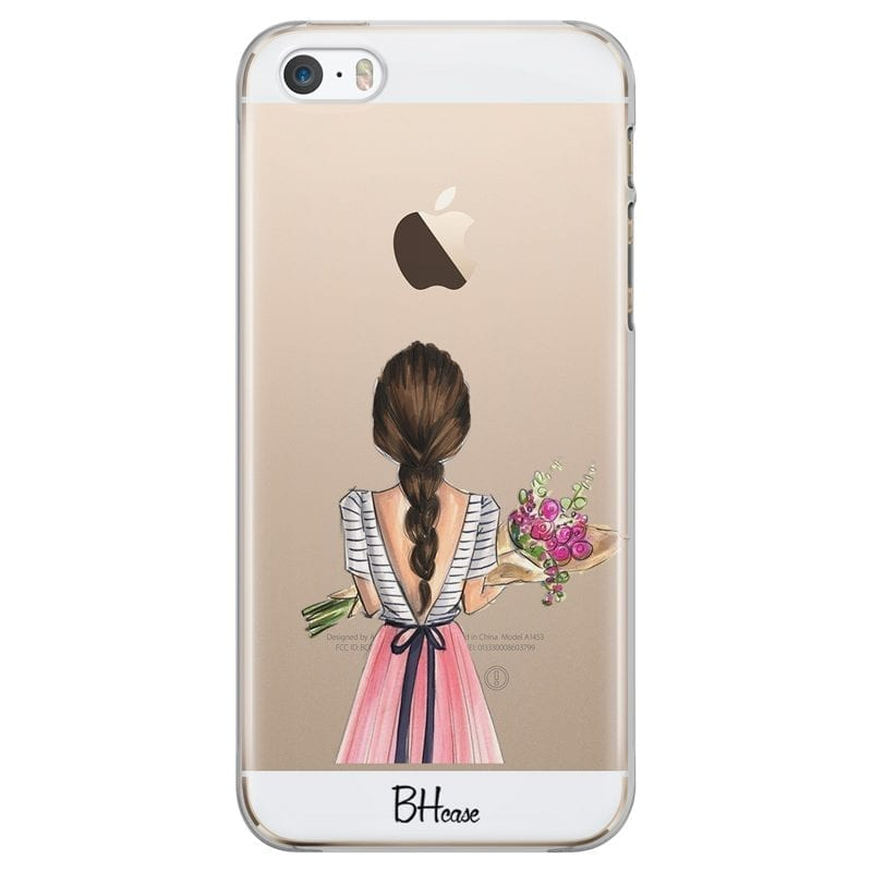 Floral Girl Coque iPhone SE/5S