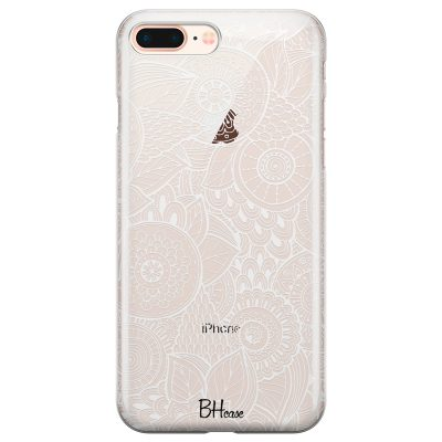 Flower Pattern Coque iPhone 7 Plus/8 Plus
