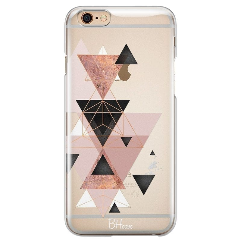 Geometric Pink Coque iPhone 6/6S