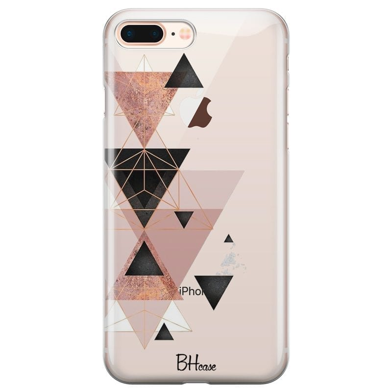 Geometric Pink Coque iPhone 7 Plus/8 Plus