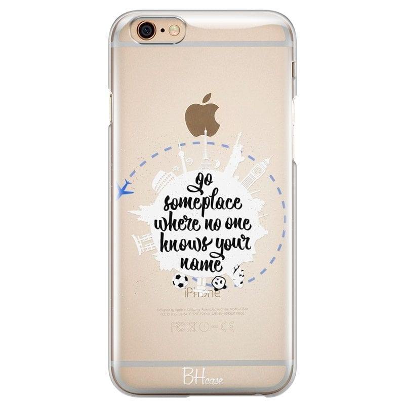 Go Someplace Coque iPhone 6/6S
