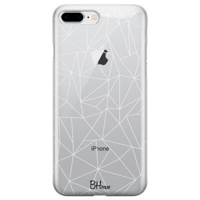 Lines White Net Coque iPhone 7 Plus/8 Plus