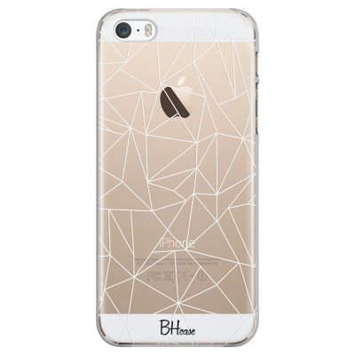 Lines White Net Coque iPhone SE/5S