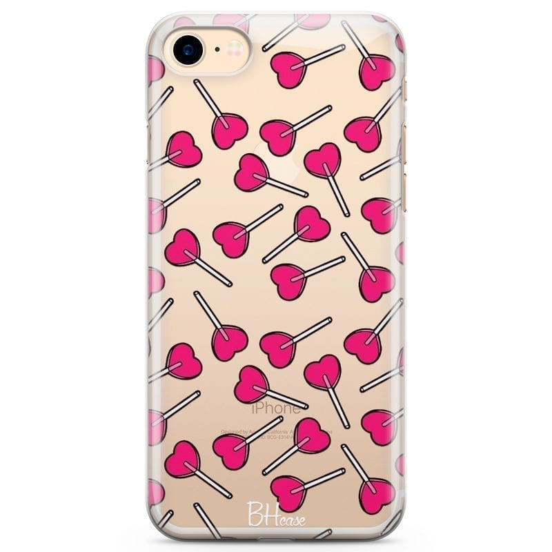 Lollipop Coque iPhone 8/7/SE 2 2020