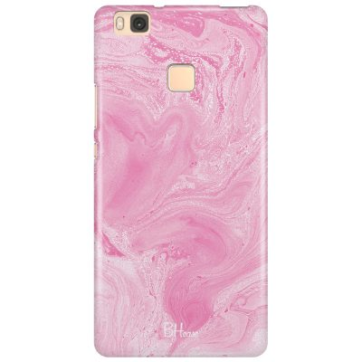 Marble Pink Coque Huawei P9 Lite