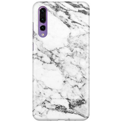 Marble White Coque Huawei P20 Pro