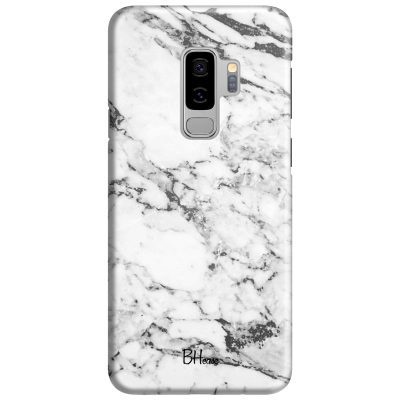 Marble White Coque Samsung S9 Plus