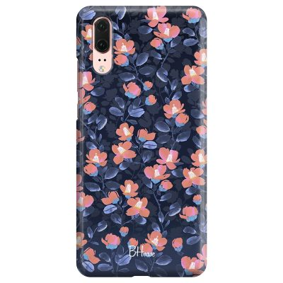 Midnight Floral Coque Huawei P20