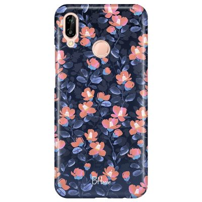 Midnight Floral Coque Huawei P20 Lite