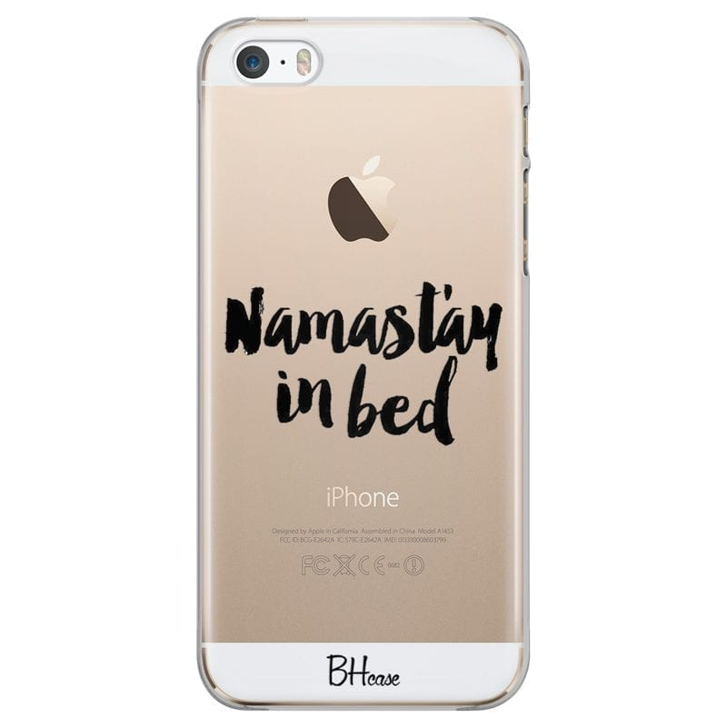 Namastay In Bed Coque iPhone SE/5S