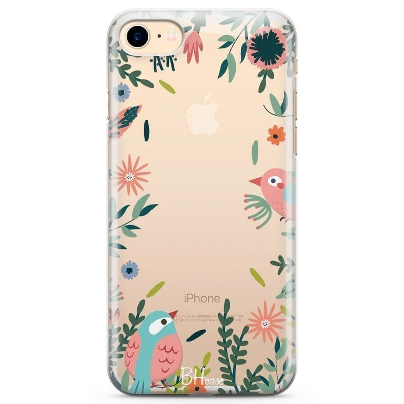 Nature Birds Coque iPhone 8/7/SE 2 2020