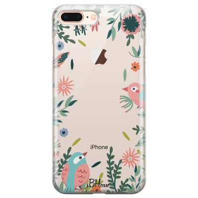 Nature Birds Coque iPhone 7 Plus/8 Plus