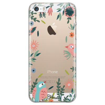Nature Birds Coque iPhone SE/5S