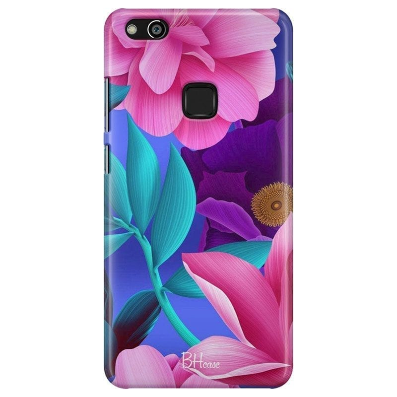 Pinky Floral Coque Huawei P10 Lite