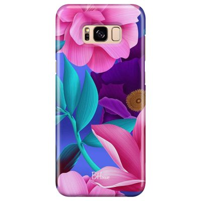 Pinky Floral Coque Samsung S8 Plus